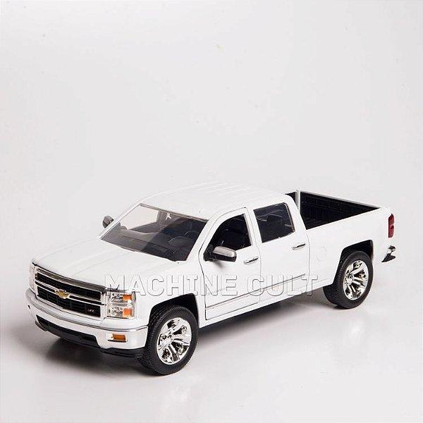 Miniatura 2014 Chevrolet Silverado - Branca - Jada 1:24