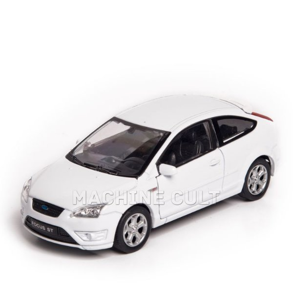 Miniatura Ford Focus ST - Branco - Welly 1:34