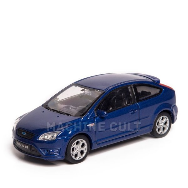 Miniatura Ford Focus ST - Azul - Welly 1:34