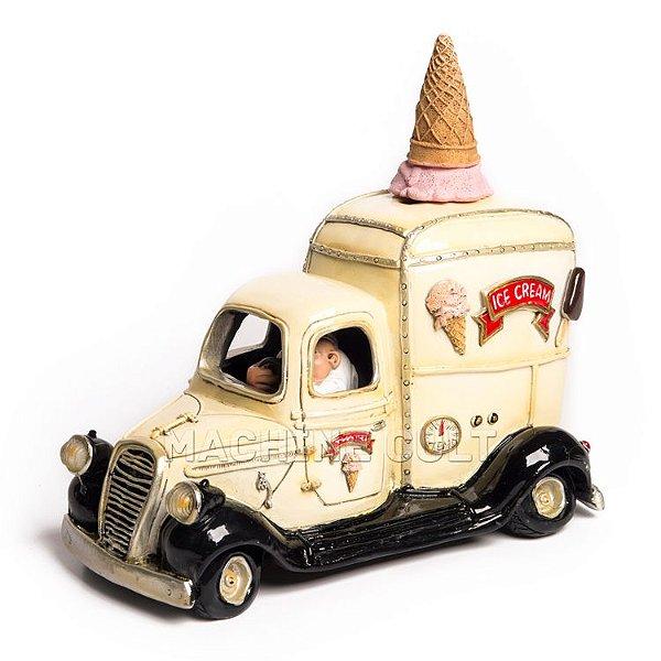 Miniatura Vintage - Carro de Sorvete