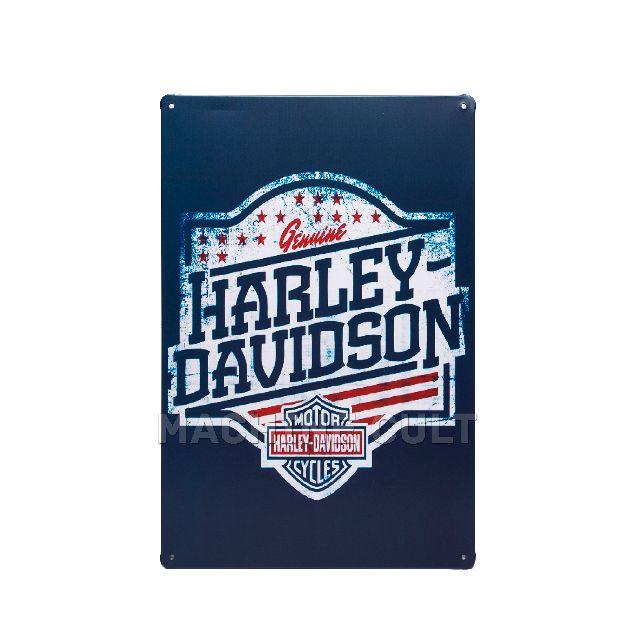 Placa Decorativa Harley-Davidson USA