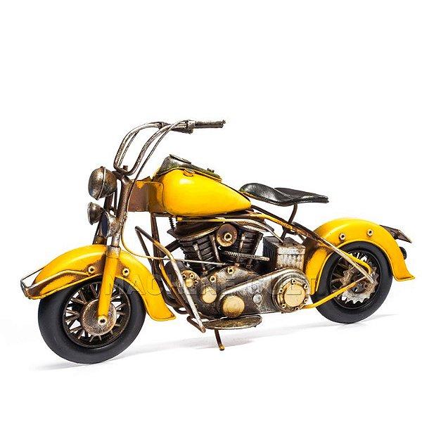 Miniatura Moto V2 - Amarela