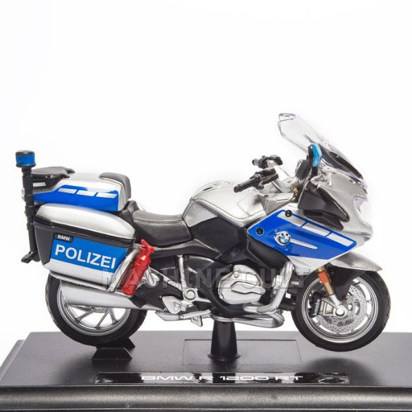 Miniatura Moto Polizei Bmw R 1200 Rt Maisto 1 18