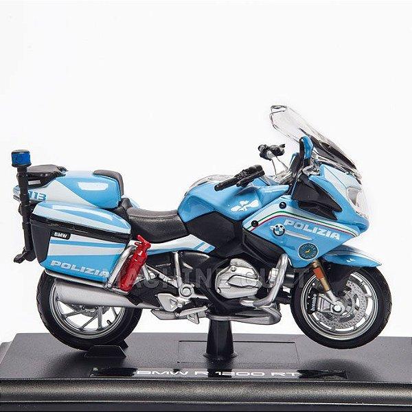 Miniatura Moto Polizia - BMW R 1200 RT - Maisto 1:18