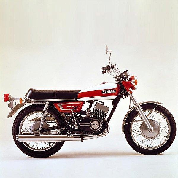Miniatura Yamaha RD-350 1:18
