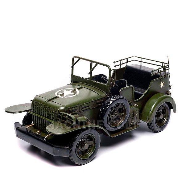 Miniatura Jeep Militar