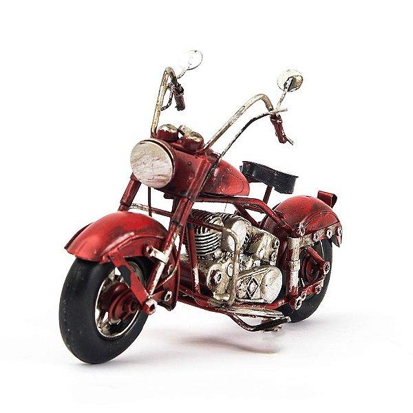 Miniatura Harley-Davidson - Vintage Retrô