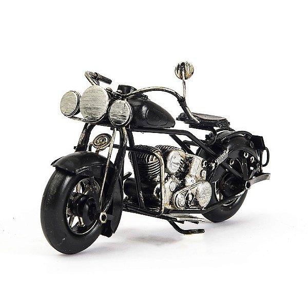 Miniatura Moto Harley Davidson Antiga