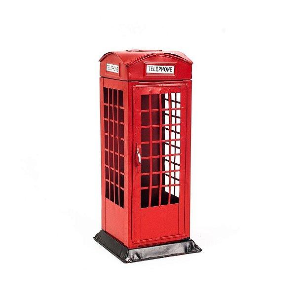 Cabine Telefônica Londres em Miniatura