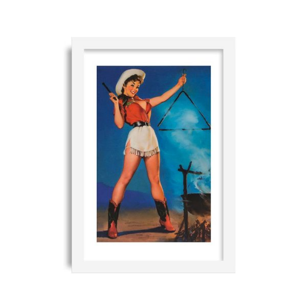 Quadro Pin-Up Vintage M1