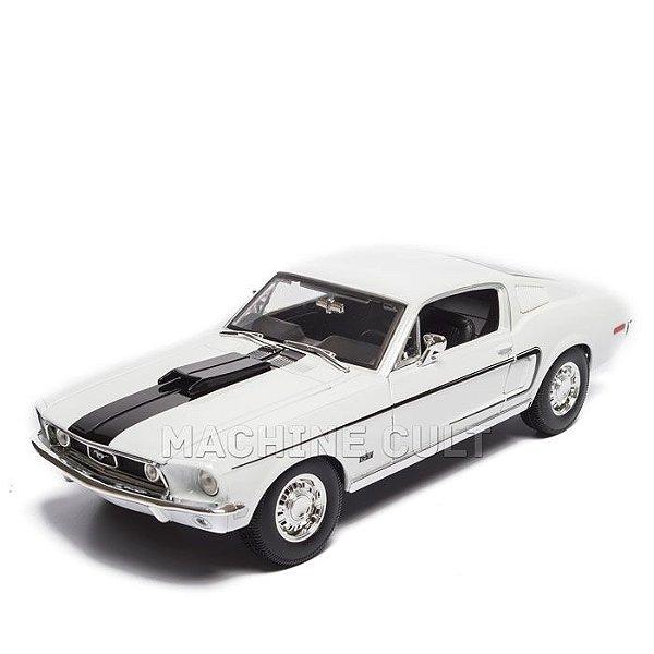 Miniatura 1968 Ford Mustang GT Cobra Jet - Maisto 1:18