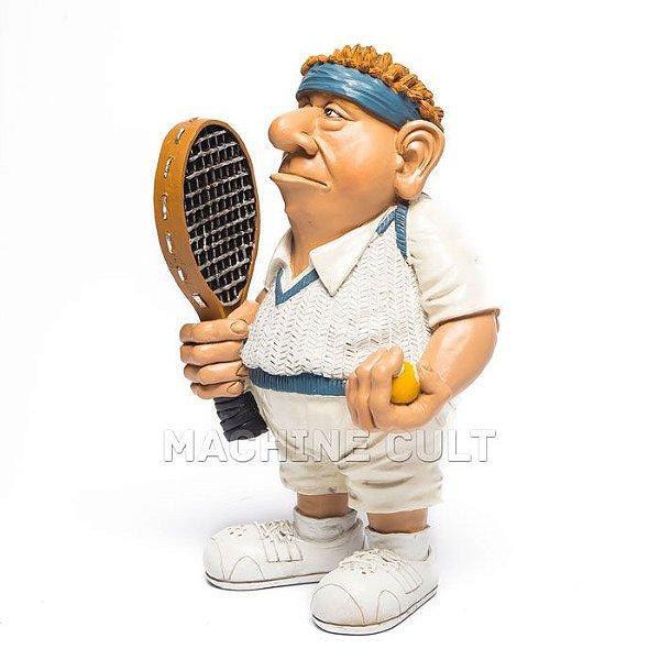 Miniatura Tenista - Presente Para Jogador de Tênis