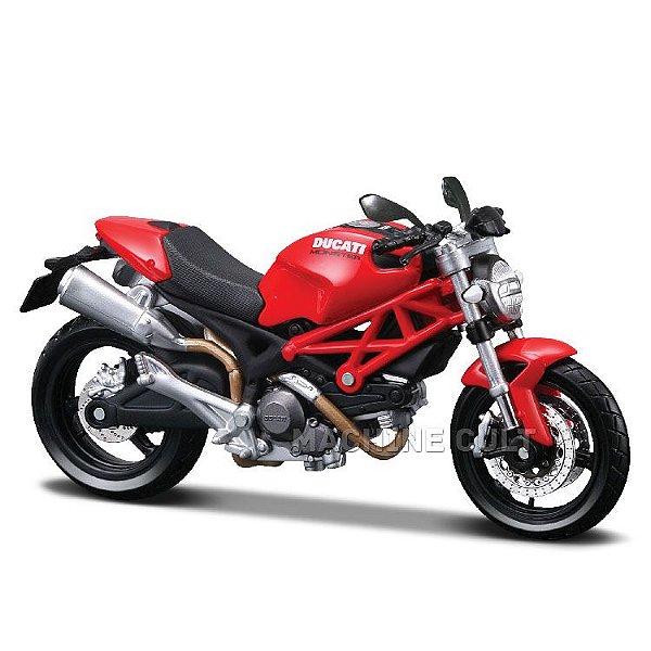 Miniatura Ducati Monster 696 - Maisto 1:18