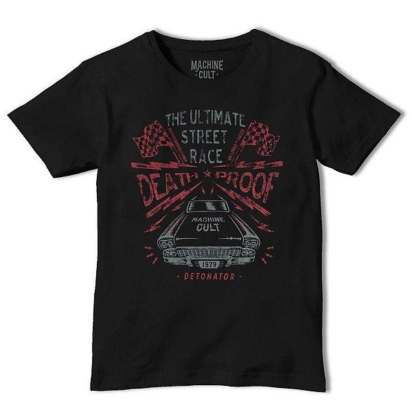 Camiseta Carro Preta