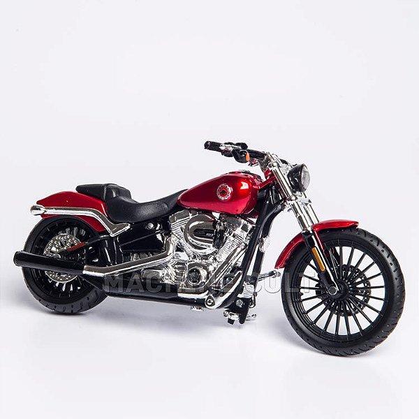 Miniatura Harley-Davidson 2016 Breakout - Vermelha - Maisto 1:18