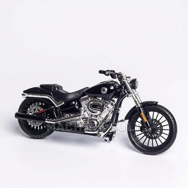 Miniatura Harley-Davidson 2016 Breakout - Preta - Maisto 1:18