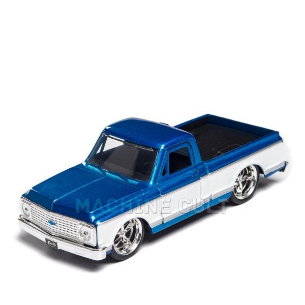 Miniatura Pick-up Chevy Cheyenne 1972 Azul - Jada 1:32