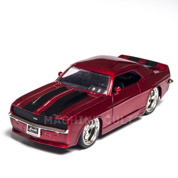 Miniatura Camaro 1969 Vermelho - Jada 1:32