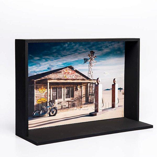 Expositor de Miniaturas de Carro 20x30cm - MD4