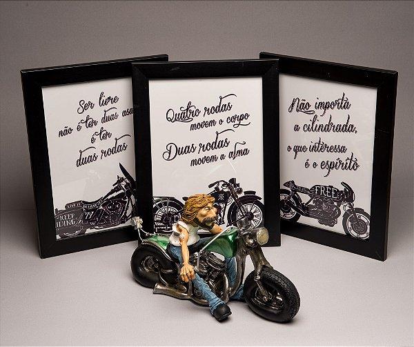Combo para presentear Motociclista - 10
