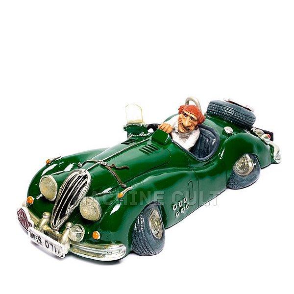 Miniatura Carro de Corrida e Piloto de Rally