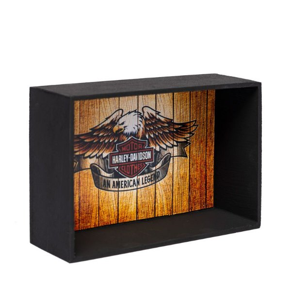 Expositor de Miniaturas Harley-Davidson 10x15cm - MD8