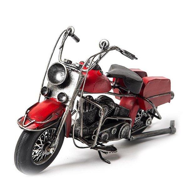 Miniatura Harley-Davidson Vermelha
