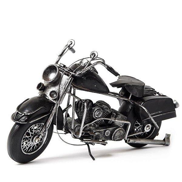 Miniatura Harley-Davidson Preta