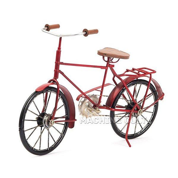 Bicicleta Decorativa - Vermelha