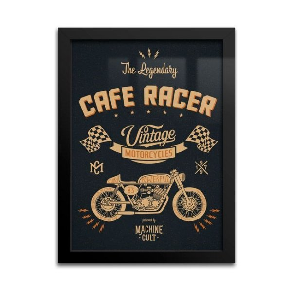 Quadro Decorativo Café Racer