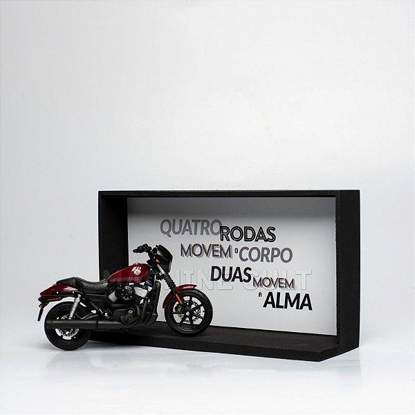 Kit Miniatura Harley-Davidson com Expositor - 20