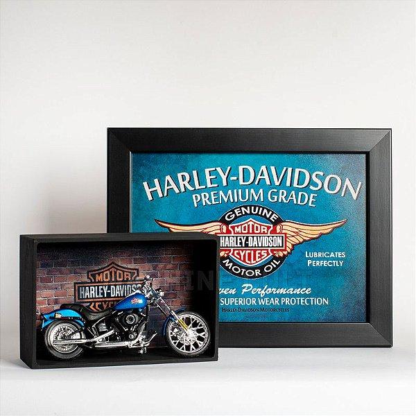 Kit Miniatura Harley-Davidson com Expositor - 23