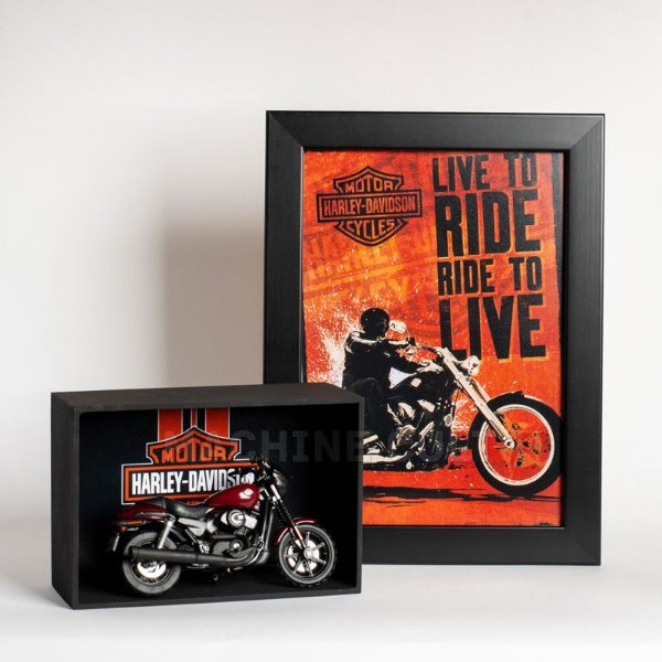 Kit Miniatura Harley-Davidson com Expositor - 24