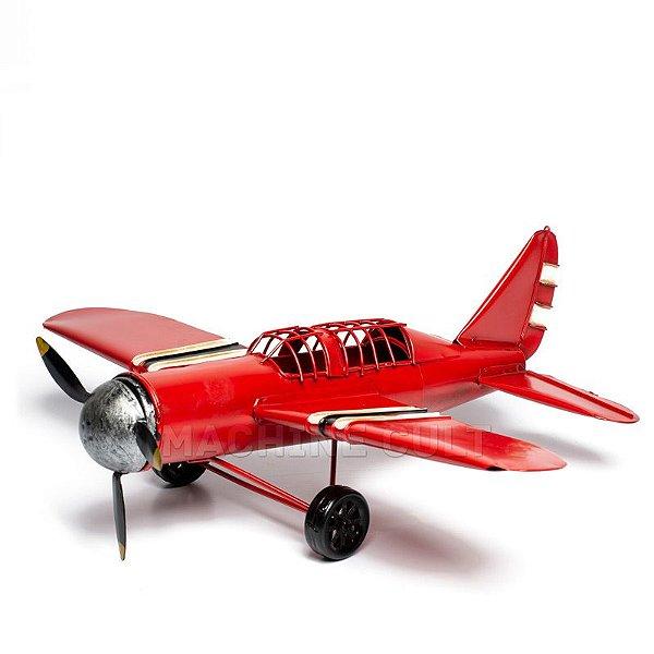 Miniatura Avião Vermelho RD