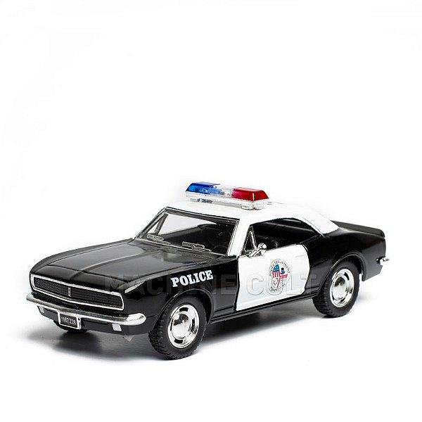 Miniatura Chevrolet Camaro Polícia 1967 Z/28 - 1:37