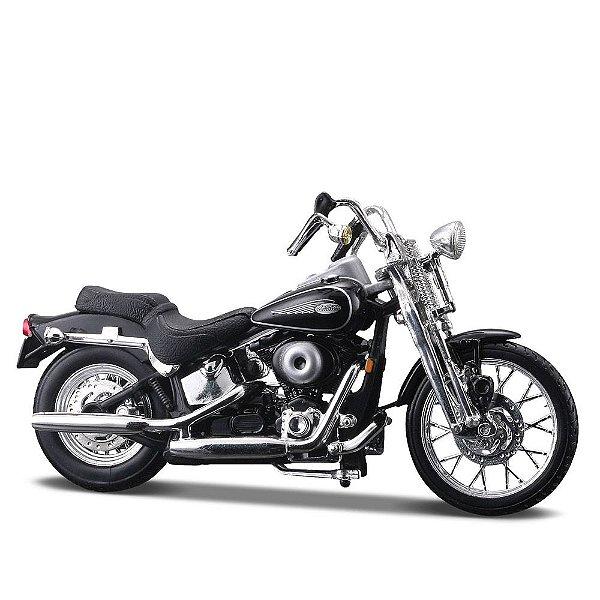 Miniatura Harley-Davidson 2001 FXSTS Springer Softail - Maisto 1:24