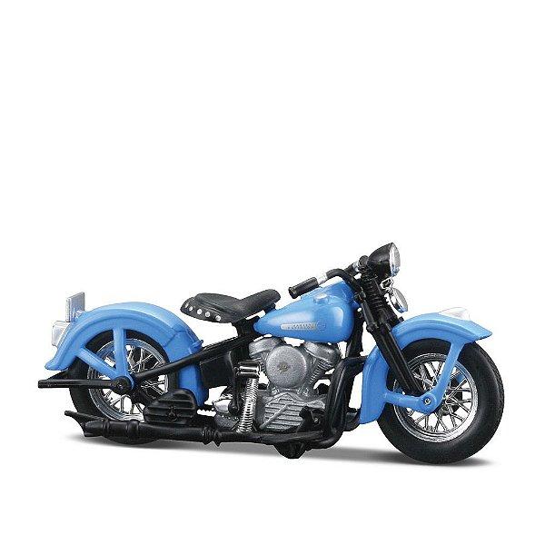 Miniatura Harley-Davidson 1948 FL Panhead - Maisto 1:24