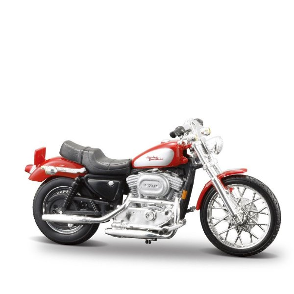 Miniatura Harley-Davidson 2002 XL 1200C Sportster - Maisto 1:24