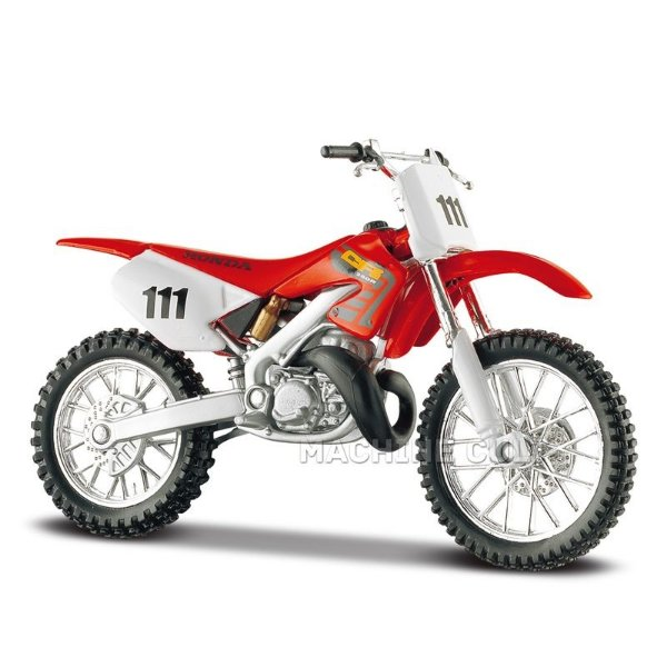 Miniatura Honda CR250R Maisto 1:18