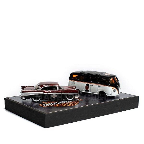 Miniaturas de Carros com Expositor - KIT 28