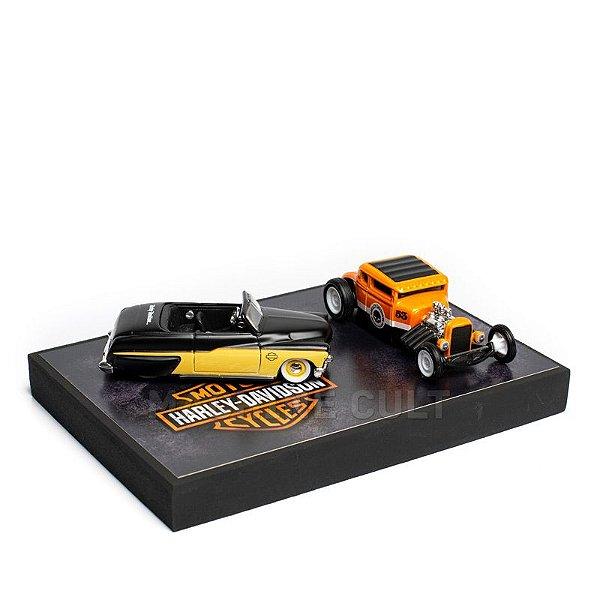 Miniaturas de Carros com Expositor - KIT 30