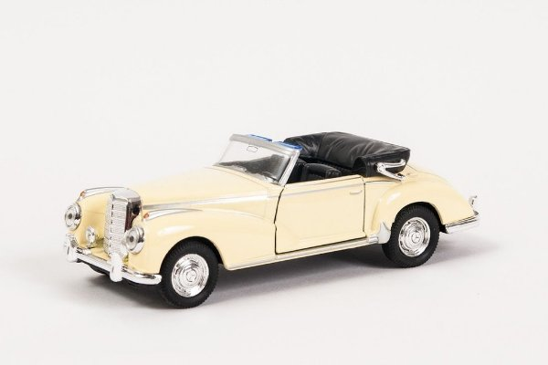 Miniatura Mercedes-Benz 300S ConversÌÎ_vel - Welly - 1:34