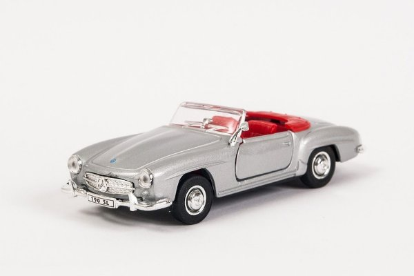 Miniatura Mercedes-Benz 190SL 1955 - Welly - 1:34