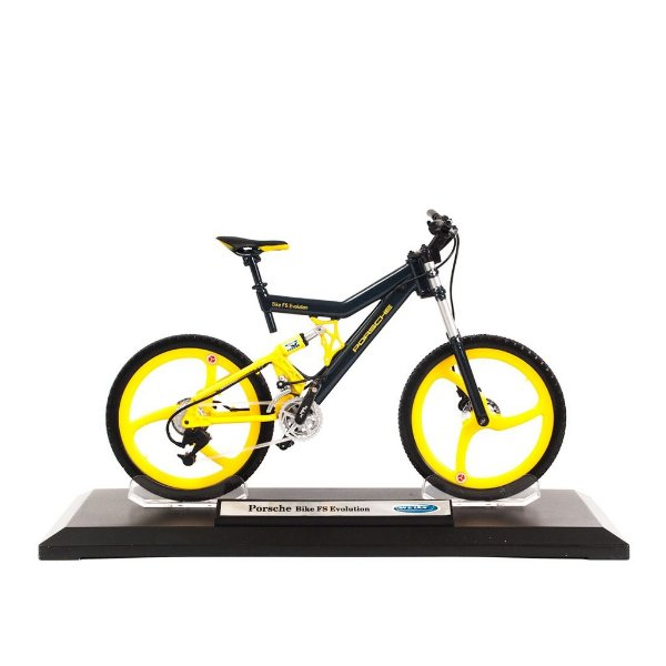 Miniatura Porsche Bike FS Evolution - Welly 1:10