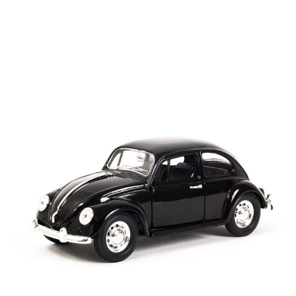 Miniatura VW Fusca Preto 1:24