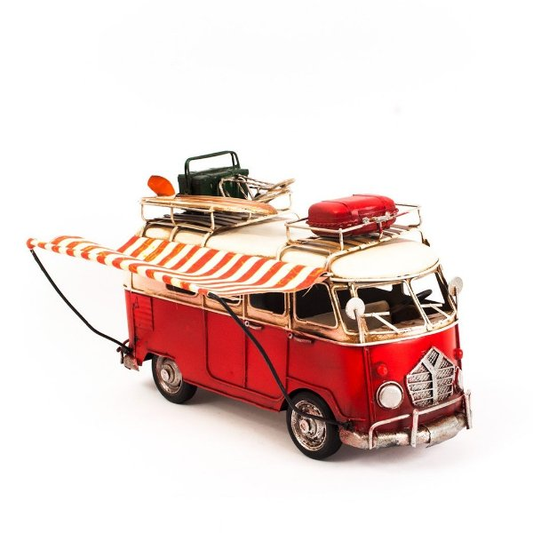 Miniatura Perua Kombi VW com Toldo