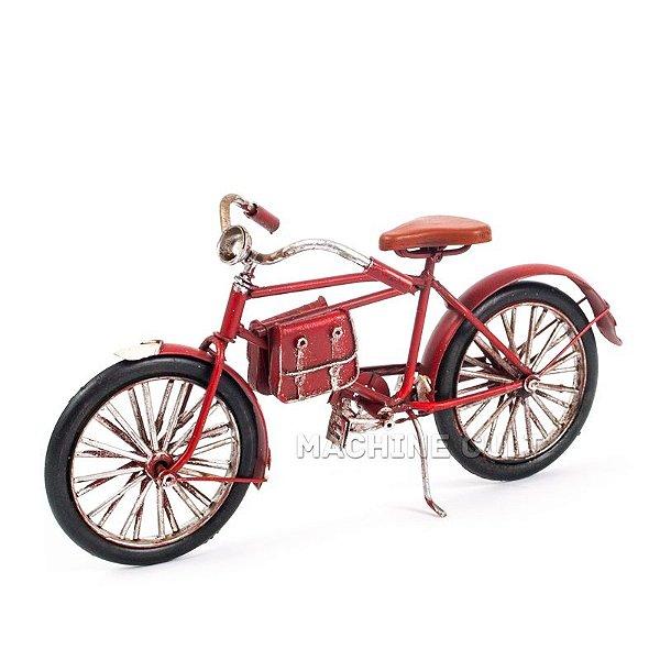 Miniatura Bicicleta Decorativa - Vermelha