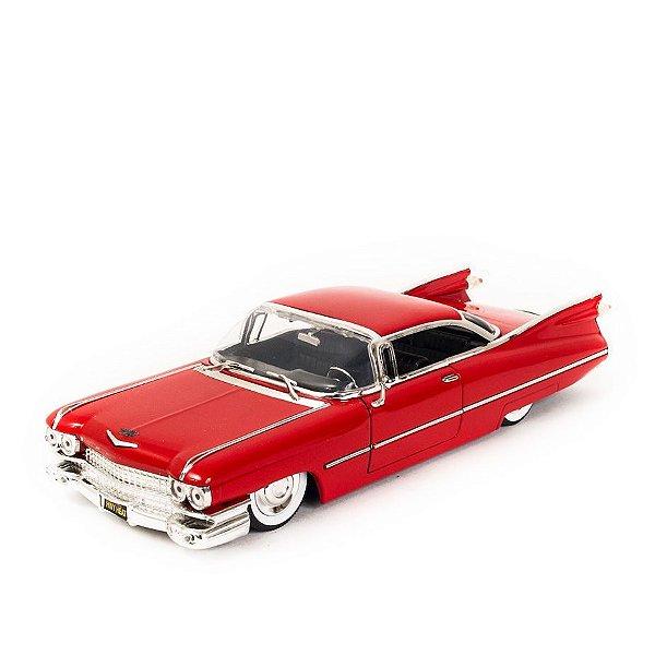 Miniatura Cadillac Coupe de Ville 1959 Vermelho - Jada 1:24