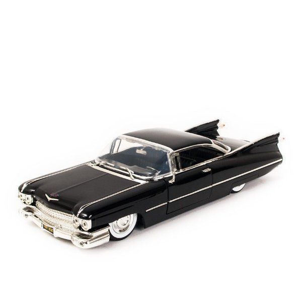 Miniatura Cadillac Coupe de Ville 1959 Preto - Jada 1:24
