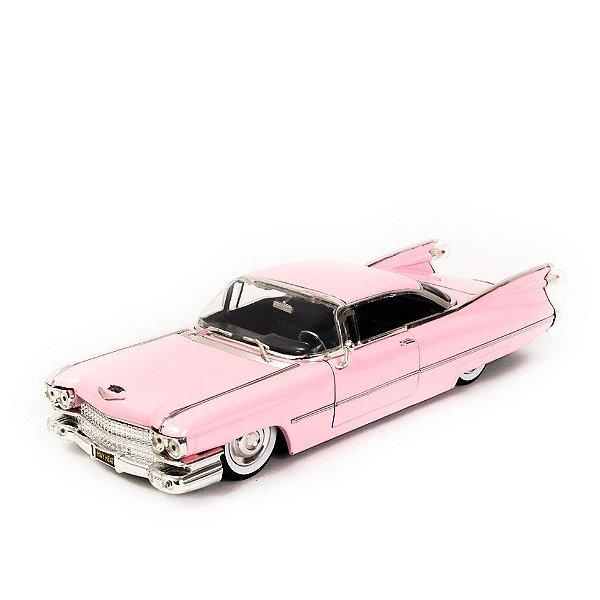 Miniatura Cadillac Coupe de Ville 1959 Rosa - Jada 1:24